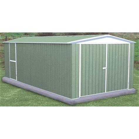 10x20 Metal Storage Shed by 10 X 20 Utility Pale Metal Shed