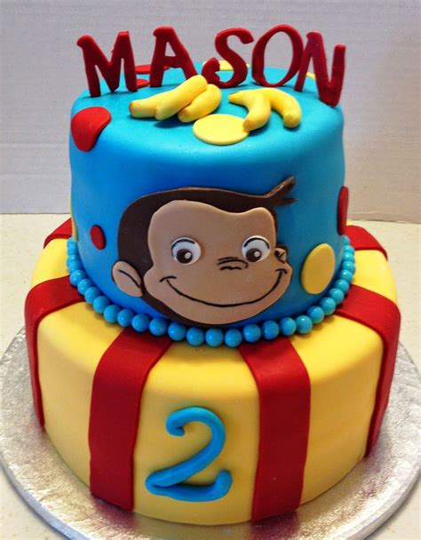 marymel cakes  curious george  birthday birthday