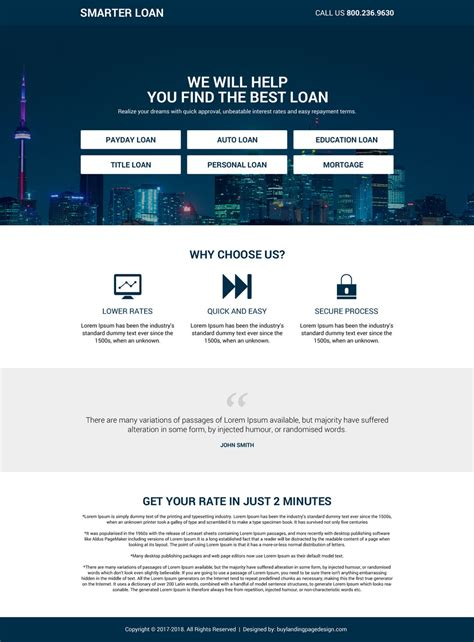 modern landing page design exles to boost your business