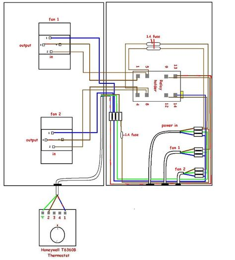 thermostat fan speed controller wiring assistance please