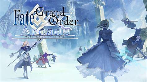 fategrand order arcadepv youtube
