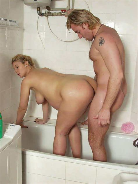 Sex With A Pregnant Milf Blonde In The Bathroom Porn Pic