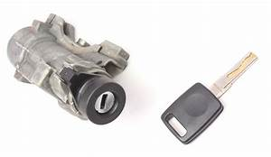 Ignition Collar  U0026 Key Set 99-01 Audi A6 C5 - Genuine