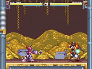 The Mugen Fighters Guild Megaman And Bass Pirateman