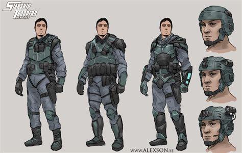 starship troopers mobile infantry  alexson  deviantart