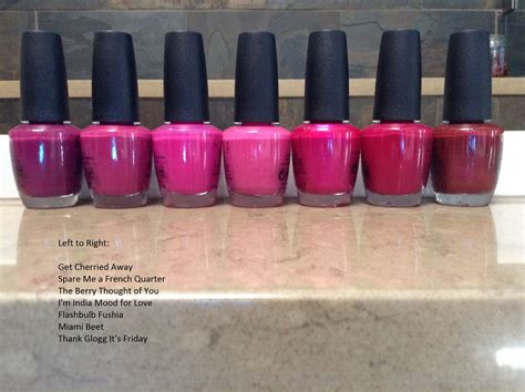 opi miami beet reviews  makeupalley