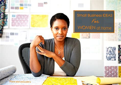 When you consider work at home business ideas and dedicate your time and effort to making a business plan, you can absolutely become successful! Small Business Ideas for Women at Home | Women Issues