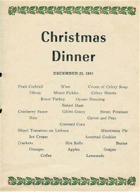 2nd bn christmas dinner 1942