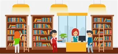 Library Clipart Clip Cartoon Pngio Research Flashcards