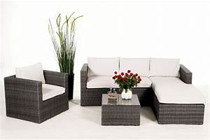 Lounge Gartenmöbel : rattan lounge brooklyn das gartenm bel set f r terrasse ~ Pilothousefishingboats.com Haus und Dekorationen