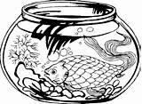 Aquarium Coloring Pages Aquariums Animated Coloringpages1001 sketch template