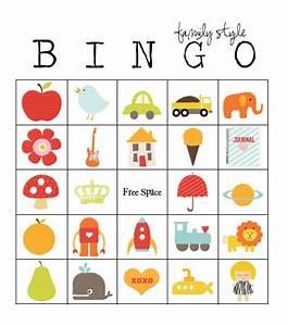 49 printable bingo card templates tip junkie for Kids bingo template