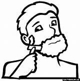Razor Shaving Shave Coloring Pages Chapter Spanish Template Oneself sketch template