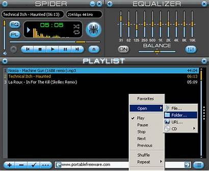 Player Spider Giphy Screenshots Pro Freeware Portable