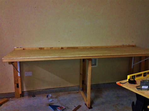 space saving fold  workbench finewoodworking