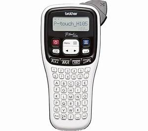 buy brother pth105wb label maker free delivery currys With buy label maker online