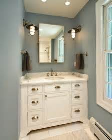 Color For Bathroom Cabinets by Blue And Brown Bathroom Design Ideas