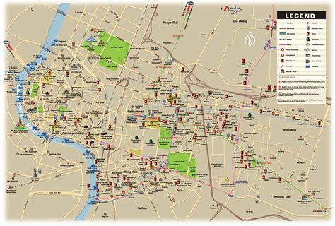 large bangkok maps     print high