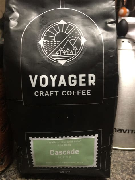 And that was our basis for this project, our third for the brand. Voyager Craft Coffee, Cascade Blend - Coffee Ken