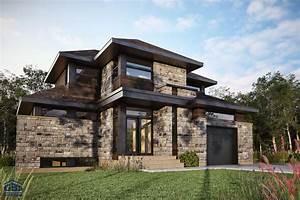 empire maison neuve a deux etages de type cottage gbd With amazing plan de maison neuve 2 nos realisations entreprise generale de construction
