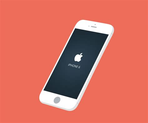 iphone 6 free 40 free iphone 6 mockup templates psd vector
