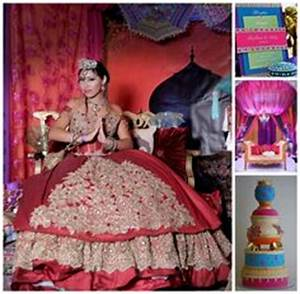 An Exotic & Colorful Bollywood Quinceanera Theme ...