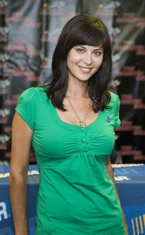 Catherine Bell  Nascar  Autism Speaks 400 Presented By