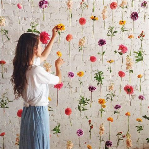 pedestals floral decorators instagram 17 best ideas about photo booth wall on