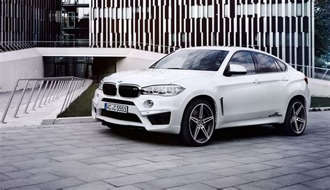 ac schnitzer tunes the bmw x6 m even more power drive