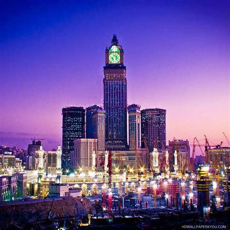 خلفيات دينية ساعة مكة المكرمة Islamic Wallpapers - صور