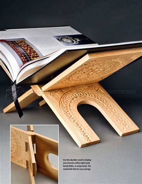 book stand woodarchivist