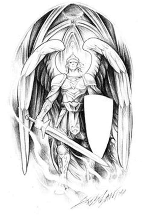 Resultado de imagen de warrior archangel michael tattoo | tatoo | Pinterest | Tattoos, Tattoo