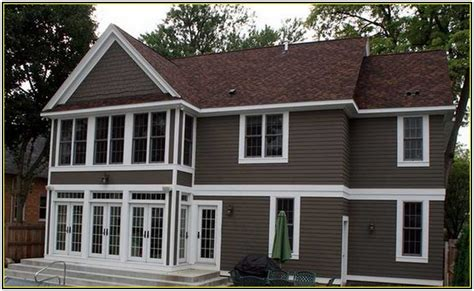 house color schemes brown roof exterior home siding color scheme house exterior