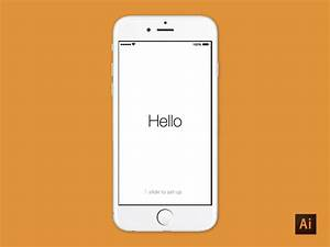 iphone 6 illustrator download by dave stadler dribbble With adobe illustrator iphone template