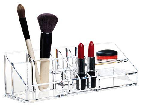 bureau maquillage boîte à maquillage clear organisateur de bureau