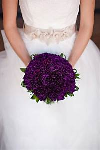yesss ♥ stunning dark (royal) purple bridal bouquet ...