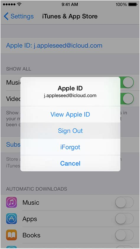 how to change your password on iphone sign in with a different apple id on your iphone or