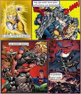 Imgs For > Goku Vs Superman Comic