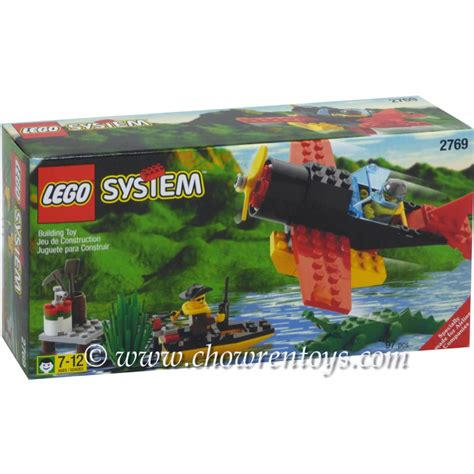 Lego Boat Plane by Lego Town Sets 2769 Airline Promotional Sw Plane Dock
