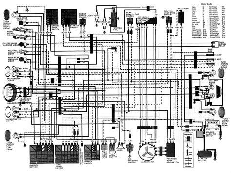 1986 Honda Cb450sc Wiring Diagram schema kabelboom honda 450 s uit 1986 techniek vragen