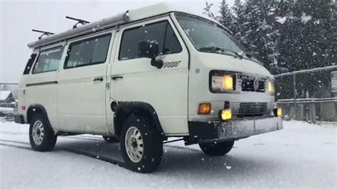 volkswagen transporter t3 vw t3 winter 2018 youtube