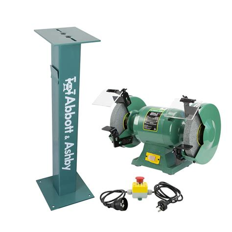 Abbott Ashby Bench Grinder by 806029 Atbg600 8 Ped Estop Abbott Ashby Bench Grinder