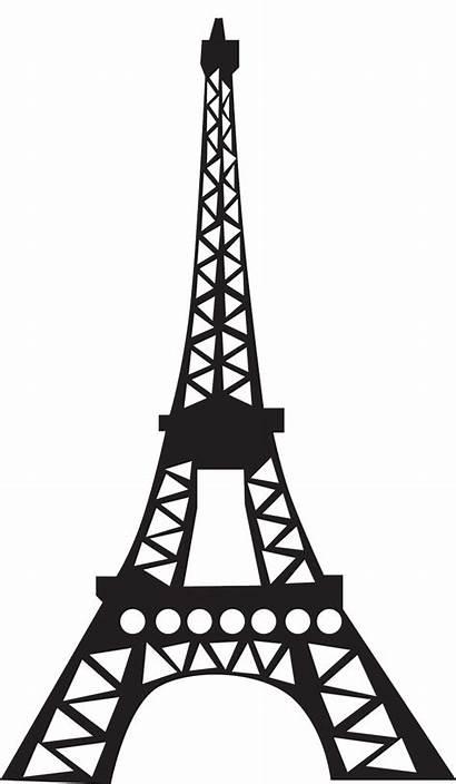 Tower Eiffel Drawing Clipart Cliparts Paris Clip