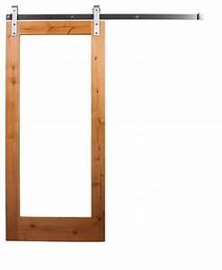 Rustica hardware mirror sliding door with barn door for 42x84 barn door