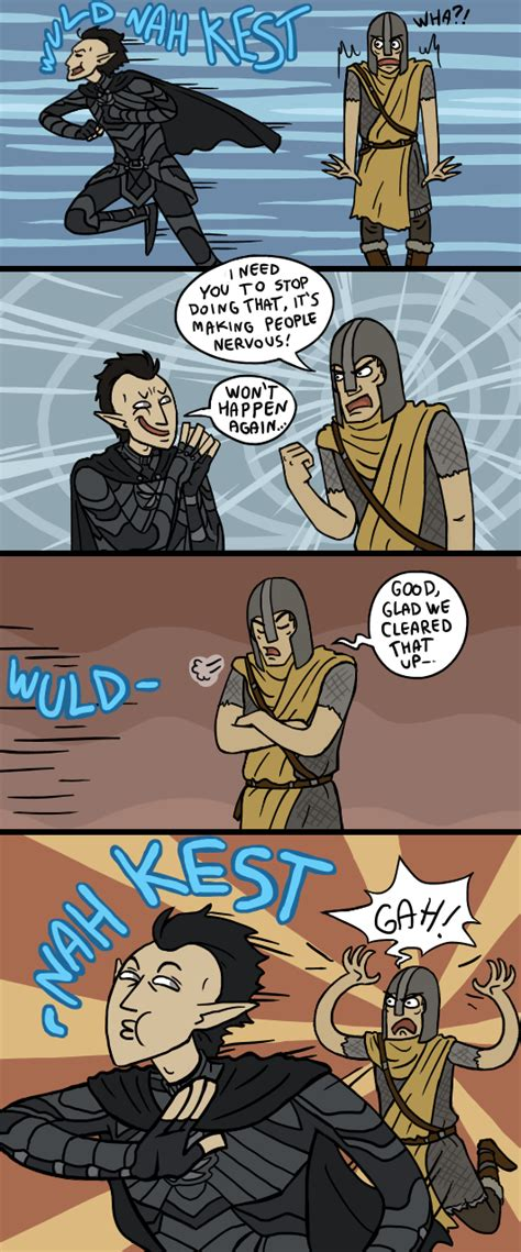 Skyrim Fun With Guards By Sparkyhero On Deviantart