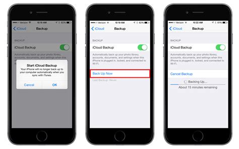 how do you backup iphone how to enable and trigger icloud backups in ios 8