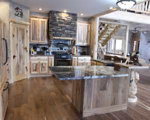 Rustic Kitchen Home Design