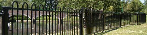 wrought iron components bow top fencing   brundle