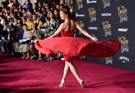 Emma Watson Wore Subtle Beauty The Beast Tribute