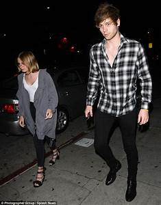 5SOS drummer Ashton Irwin parties at The Nice Guy in West ...